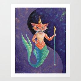 The Mercat Art Print
