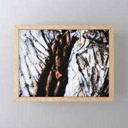 Nude Painting Framed Mini Art Print