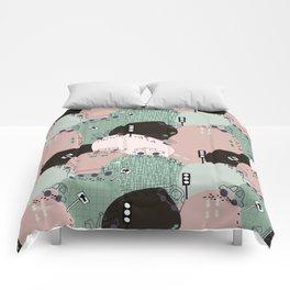 Four wheels green #homedecor Comforters