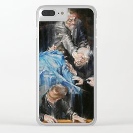 Demons Clear iPhone Case