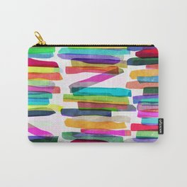 Colorful Stripes 5 Carry-All Pouch
