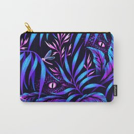 Jurassic Jungle - Blue Pink Carry-All Pouch