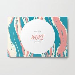Woke Colour Metal Print