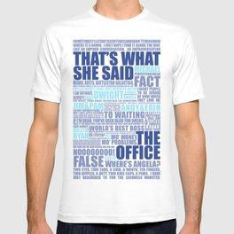 The Office Blue T-shirt