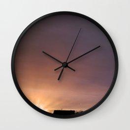SUNSET - Ophelia Sky Wall Clock