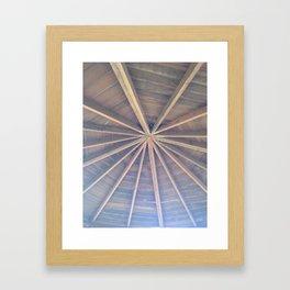 Looking UP.... Framed Art Print
