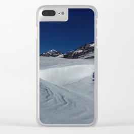 Gemmipass above Leukerbad, Valais, Swiss Alps II Clear iPhone Case