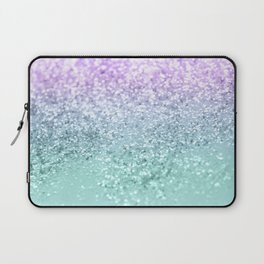 Mermaid Girls Glitter #1 #shiny #decor #art #society6 Laptop Sleeve