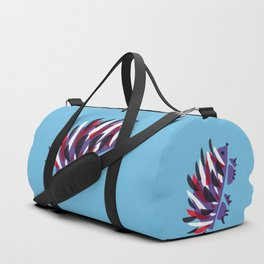 Colorful Abstract Hedgehog Duffle Bag