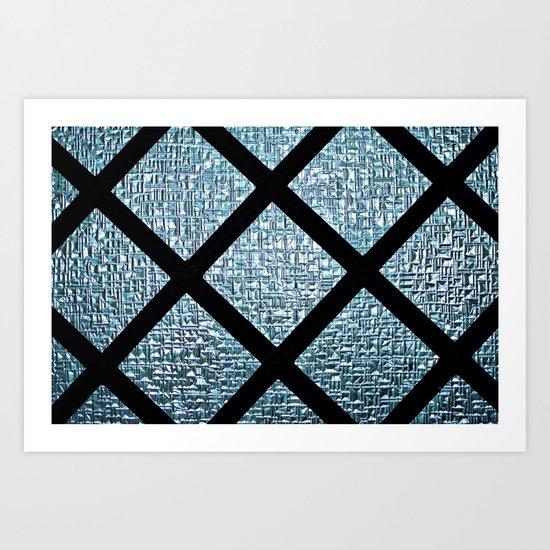 Windowpane Art Print