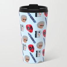 red hero Metal Travel Mug
