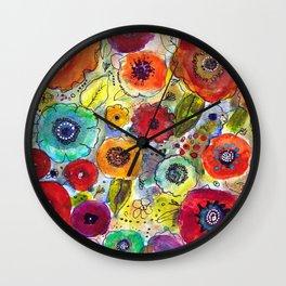 Mixed Garden Wall Clock