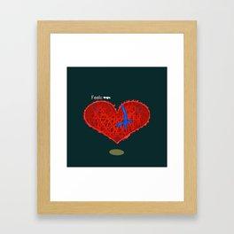 The Feels Framed Art Print