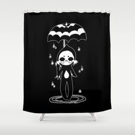 ▴ black lagoon ▴ Shower Curtain