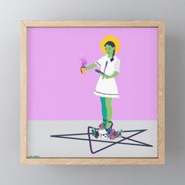 Crystal Intentions Framed Mini Art Print