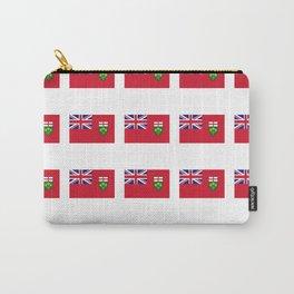 Flag of ontario -ontarian,ontarien,toronto,ottawa,heartland,huron,hamilton. Carry-All Pouch