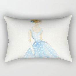 The Polka Dot Dress Rectangular Pillow