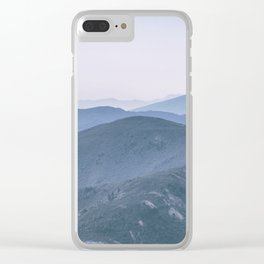 Hills #2 Clear iPhone Case