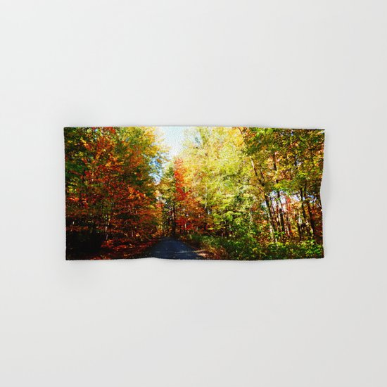 Into the Fall Forest Hand & Bath Towel