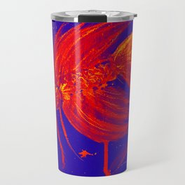 Vibran Red Splatter Betta Travel Mug