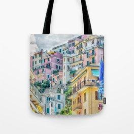 Manarola, Cinque Terre, Architecture Tote Bag
