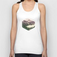 the mountains are calling Tank Tops featuring The Mountains Are Calling by Noonday Design