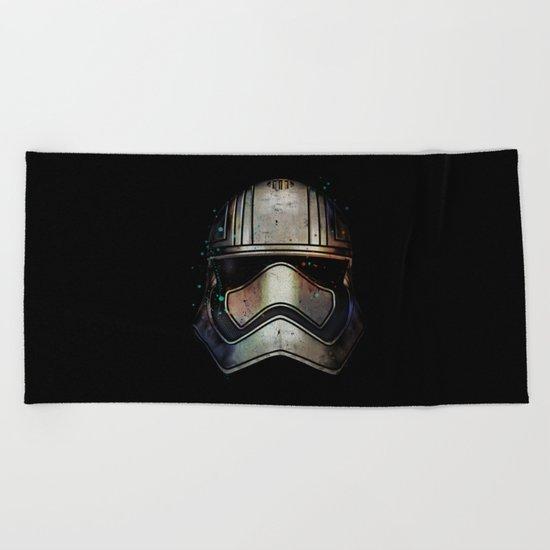 Captain Phasma Shadow Beach Towel