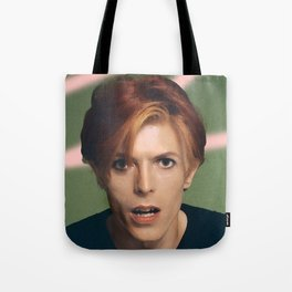 pinky bowie green Tote Bag