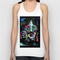dave grohl Tank Tops featuring Self portrait as Dave Grohl by brett66
