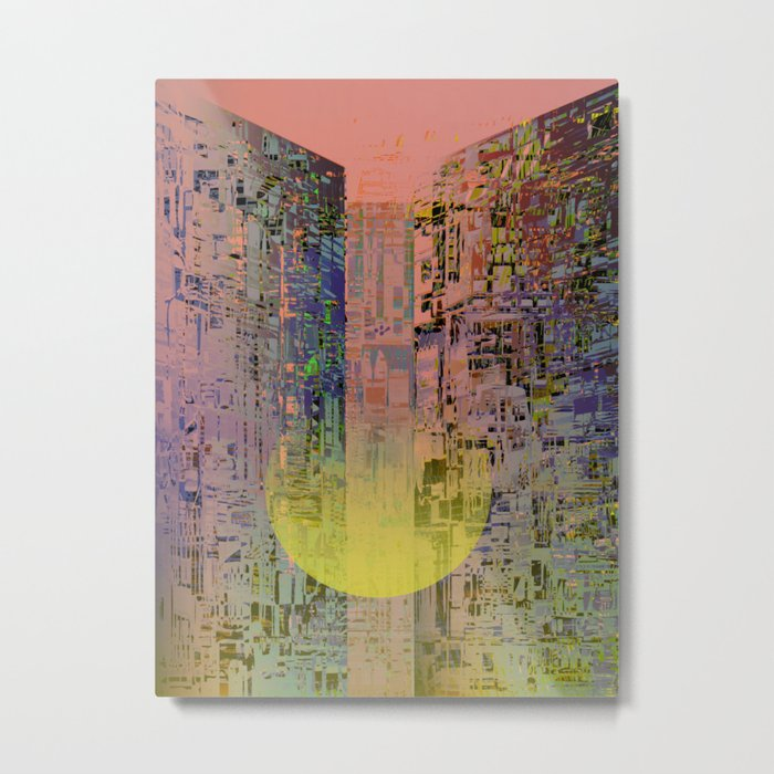 In The Transparent Places Metal Print