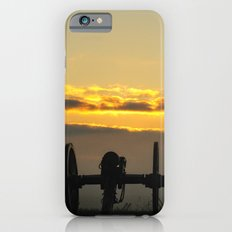 Sunrise on a foggy Battlefield iPhone 6s Slim Case