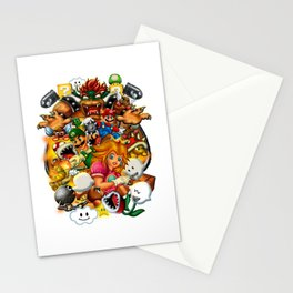 Super Mario Bros. Battle Stationery Cards
