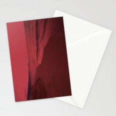 Dreamscape red Stationery Cards