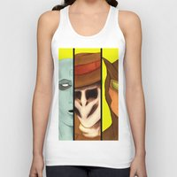 watchmen Tank Tops featuring Watchmen de Alan Moore by La Milana Bonita