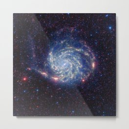 803. Pinwheel Galaxy / Messier 101 Metal Print