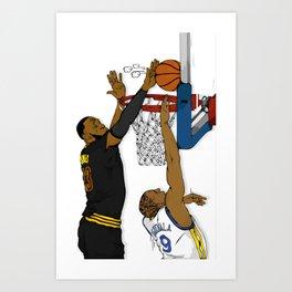 The block Art Print