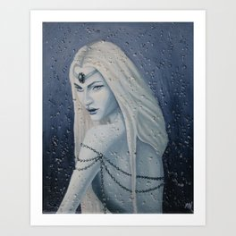 Snow Witch Art Print