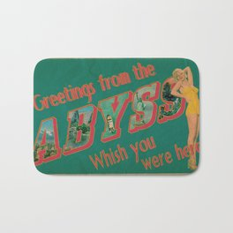 Welcome to the Abyss Bath Mat
