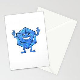Never trust a Game Master RPG Game Gamer Nerd Stationery Cards