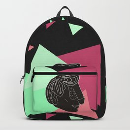 Dface Pattern 3 Backpack