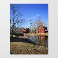 Bonneyville Mill Canvas Print