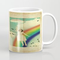 dorothy Mugs featuring Dorothy by Robin Curtiss