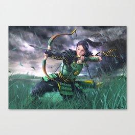 Tsuruchi Akira Canvas Print