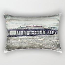Cromer Pier . Rectangular Pillow