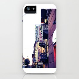 Hotel Europa iPhone Case
