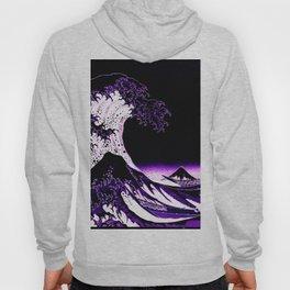 The Great Wave : Purple Hoody