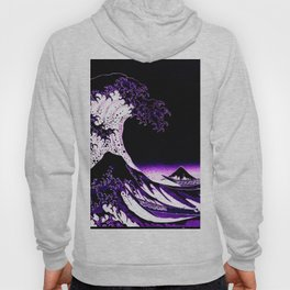 The Great Wave : Purple Hoody