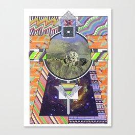 Temple Of Doom (2011) Canvas Print