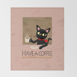Have a coffee? Throw Blanket