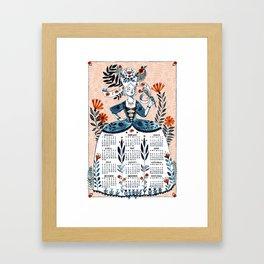 2018 Calendar Framed Art Print